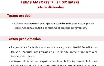 24 DE DICIEMBRE